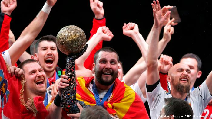 Deutschland Knapper Sieg gegen Paris: Skopje holt Champions-League-Titel (Getty Images/AFP/I. Fassbender)
