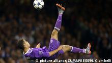 Wales Christiano Ronaldo im Championsleague-Finale