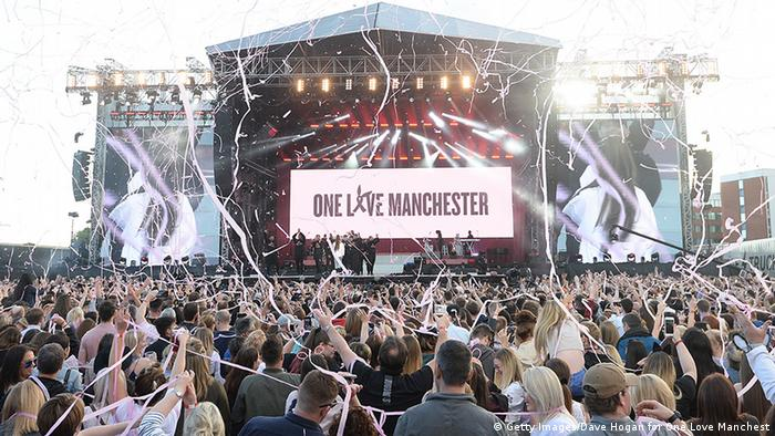 UK Benefizkonzert in Manchester gestartet | Ariana Grande (Getty Images/Dave Hogan for One Love Manchest)