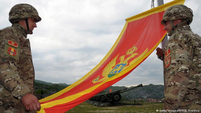Symbolbild Montenegro NATO (Getty Images/AFP/S. Prelevic)