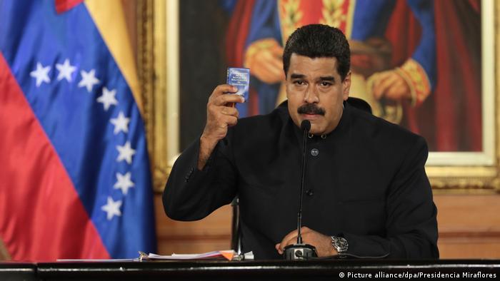 Nicolas Maduro (Picture alliance/dpa/Presidencia Miraflores)