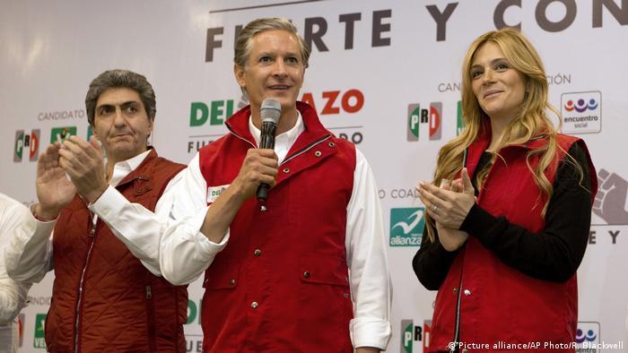 Alfredo Del Mazound Fernanda Castillo (Picture alliance/AP Photo/R. Blackwell)