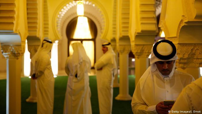 Katar Doha Beamte Verteidigungsministerium