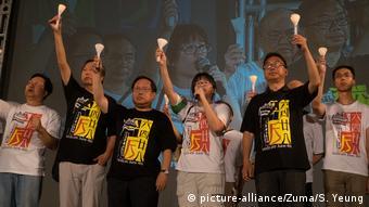 Hongkong Gedenken Tianamen Massaker