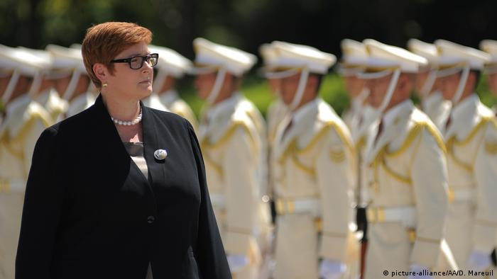 Tokio Marise Payne Verteidigungsministerin Australien (picture-alliance/AA/D. Mareuil)