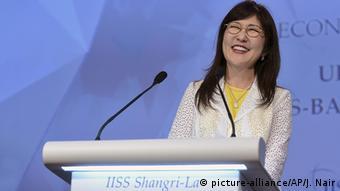 Singapur Shangri-la Dialogue Tomomi Inada