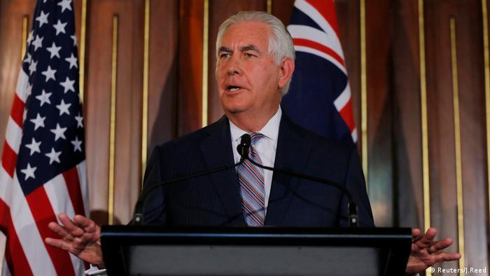 Rex Tillerson Australien