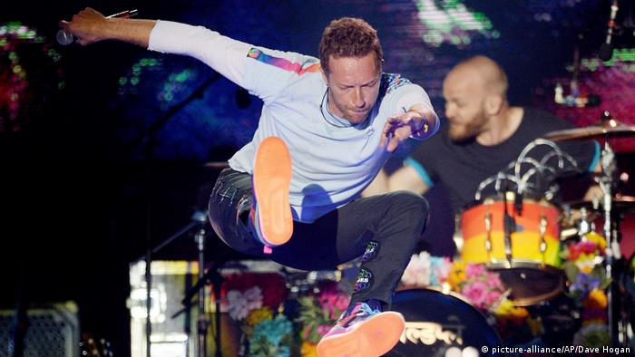 One Love Manchester, Chris Martin from Coldplay (picture-alliance/AP/Dave Hogan)