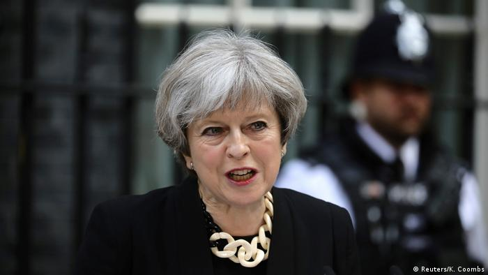 London Theresa May Erklärung Terroranschlag London Bridge (Reuters/K. Coombs)
