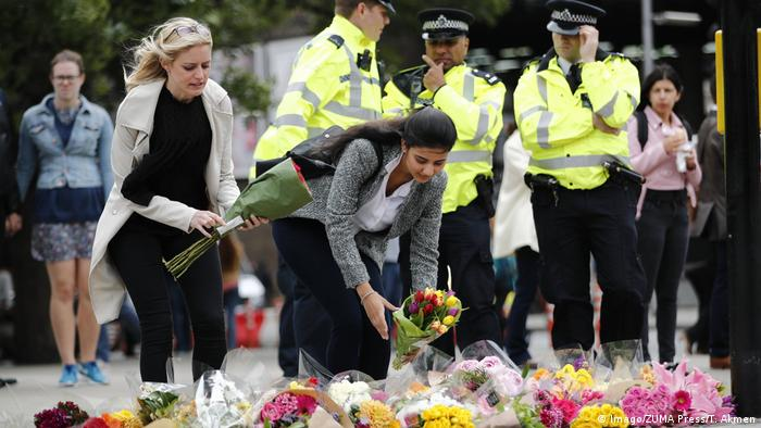 London Trauer nach Anschlag vom 03.05.2017