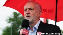 Großbritannien Labour Chef Jeremy Corbyn