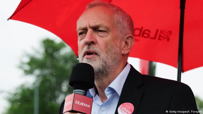Großbritannien Labour Chef Jeremy Corbyn (Getty Images/I. Forsyth)