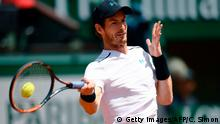 Paris Tennis Andy Murray am 5.6.2017