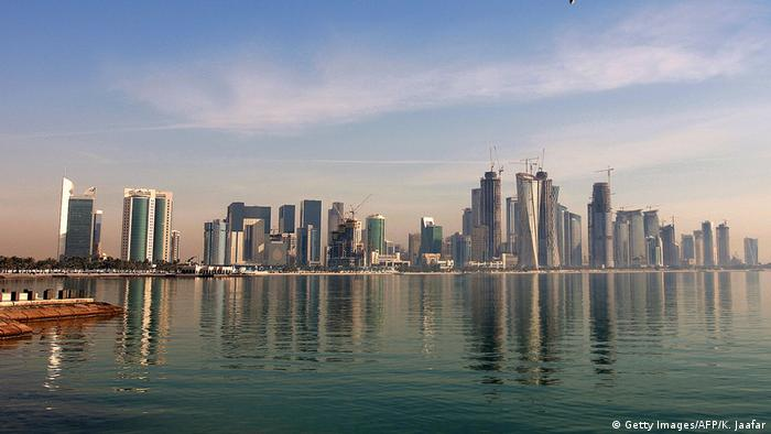 Katar Doha Skyline (Getty Images/AFP/K. Jaafar)