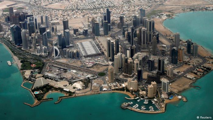 Katar Doha Skyline (Reuters)
