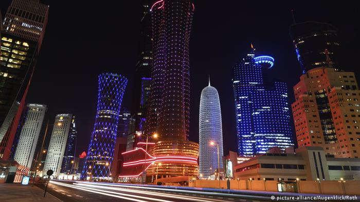 Katar Doha Skyline (picture-alliance/Augenklick/Roth)