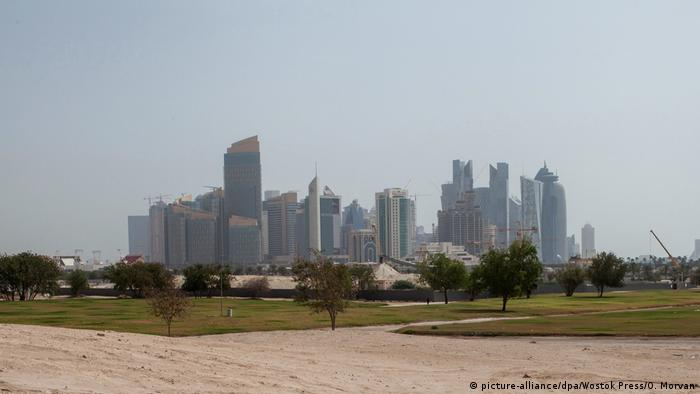 Katar - Doha Skyline (picture-alliance/dpa/Wostok Press/O. Morvan)