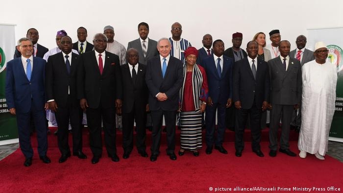ECOWAS summit in Monrovia, June 2017 (picture alliance/AA/Israeli Prime Ministry Press Office)