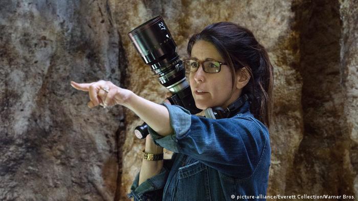 WONDER WOMAN, Regisseurin Patty Jenkins on set, 2017...