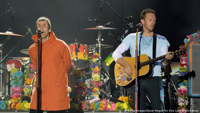 One Love Manchester Benefit Concert Liam Gallagher (L) (Getty Images/Dave Hogan for One Love Manchester)