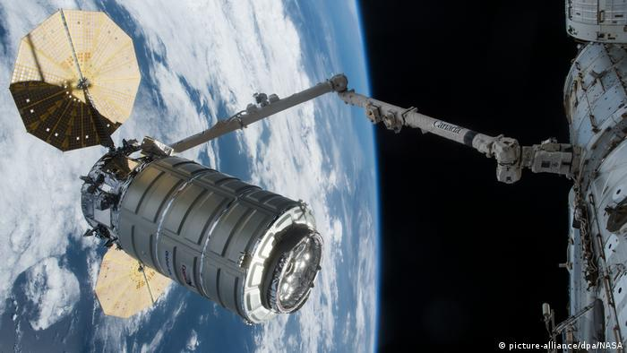 US-Raumfrachter «Cygnus» (picture-alliance/dpa/NASA)