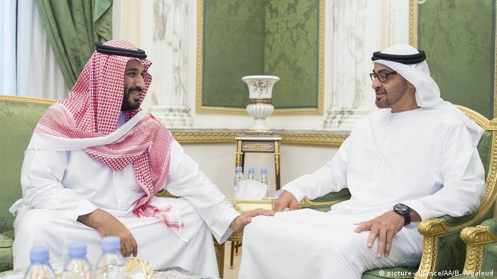 ولي العهد السعودي الأمير محمد بن سلمان وصديقه ولي عهد أبو ظبي الشيح محمد بن زايد