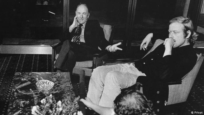 Claus Peymann and Thomas Bernhard (Photo: Private)