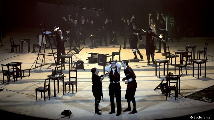Scene from The Trial by Franz Kafka (Photo: Lucie Jansch)