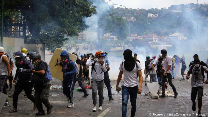 Venezuela Krise Proteste