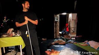 Rotkäppchen Reloaded Theaterstück Berlin (DW/P.Kouparanis)
