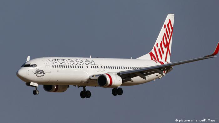 Fluggesellschaft Virgin - Boeing 737-800 (picture alliance/P. Mayall)
