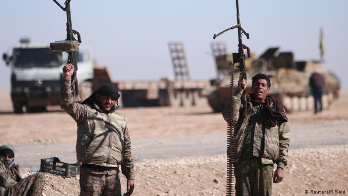 Syrien Offensive auf Rakka (Reuters/R.Said)