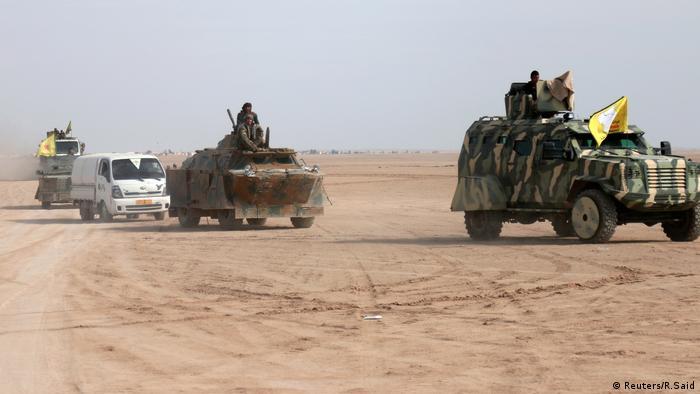 Syrien Rakka Offensive