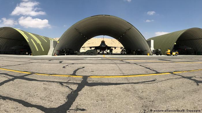 Jordanien Airbase Luftwaffenstützpunkt Al-Azrak (picture-alliance/dpa/B. Doppagne)