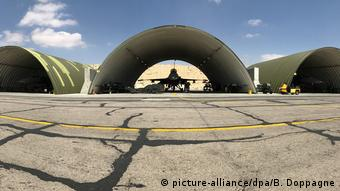 Jordanien Airbase Luftwaffenstützpunkt Azrak (picture alliance/dpa/B. Doppagne)