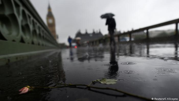Теракт у Лондоні: квітка на місці нападу - Лондонському мосту