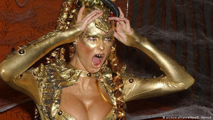 Heidi Klum - Halloween (picture-alliance/dpa/D. Herrick)