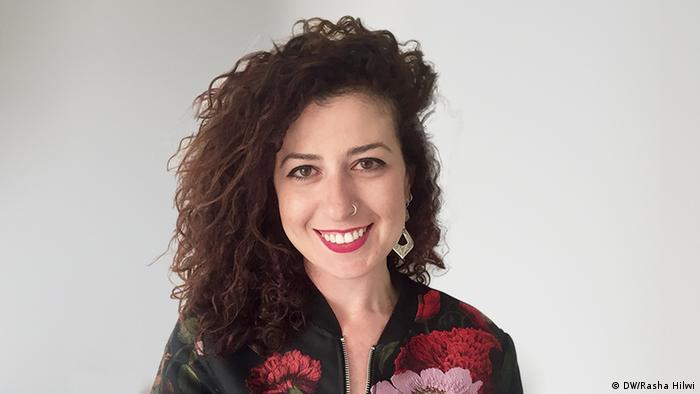 arabisch Kolumnistin Rasha Hilwi