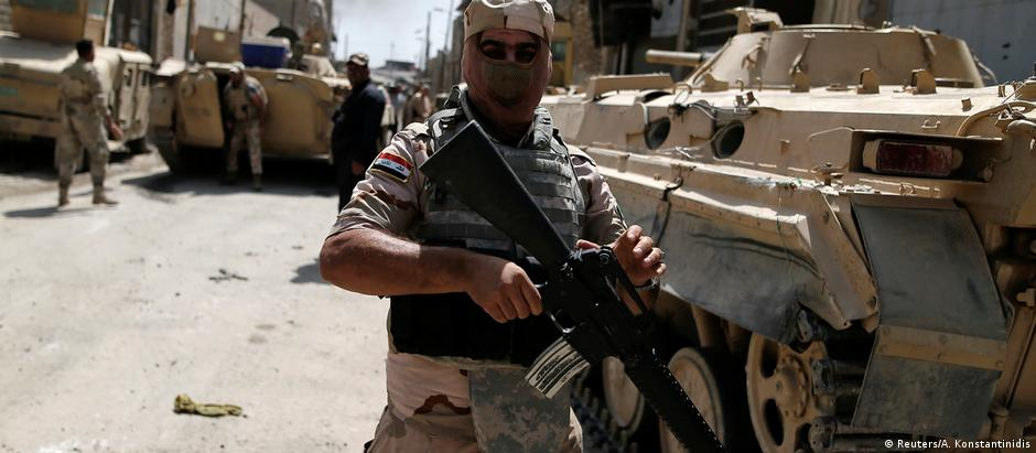 Exército iraquiano defende posições nas cercanias de Mossul