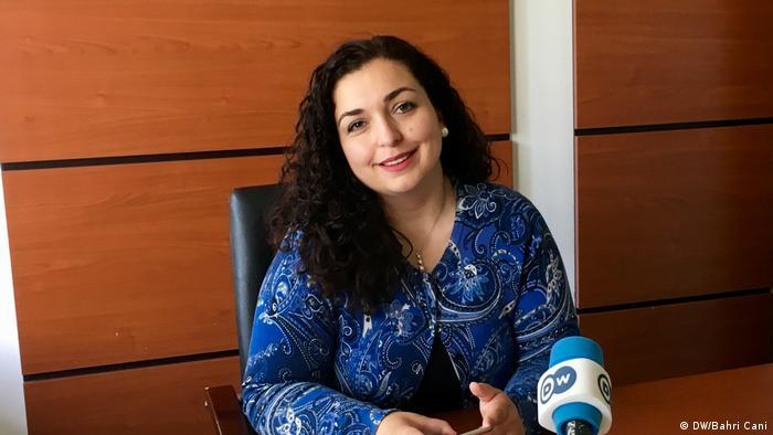 Vjosa Osmani: Nuk e di pse më kanë vënë në vendin 81, por... | Ballkani |  DW | 07.06.2017