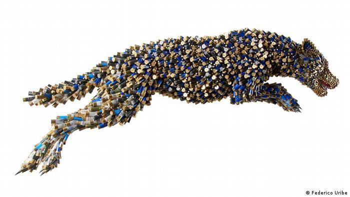 Kolumbien | Kunst aus Patronen von Federico Uribe (Federico Uribe)