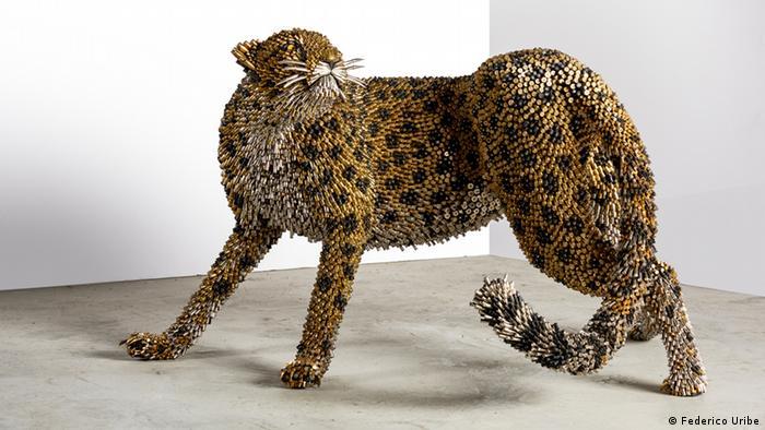 Leopardo de Federico Uribe