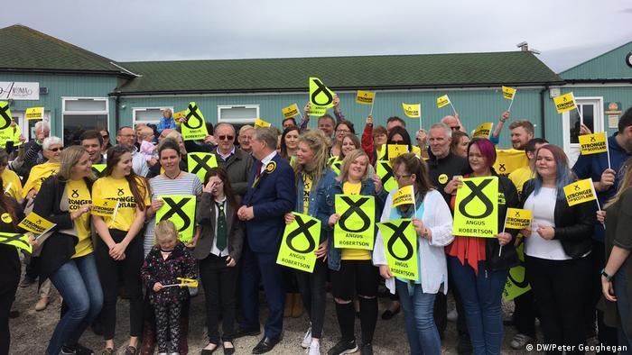 Schottland Wahlkampf