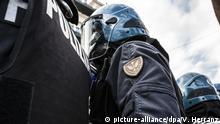 Italien Polizei auf Sizilien