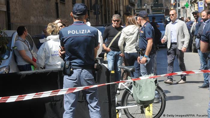 Поліцейська операція з затримання ватажка мафії в Італії (фото з архіву)
