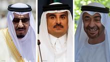 Kombibild Salman, Hamad, Nahyan