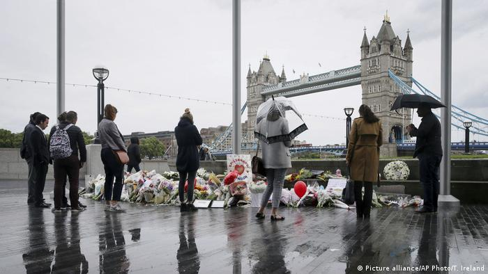 Nach Terroranschlag in London (Picture alliance/AP Photo/T. Ireland)