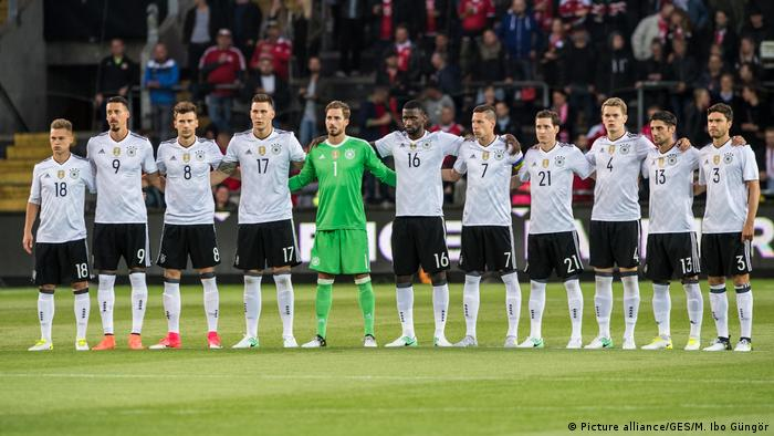 La selección alemana