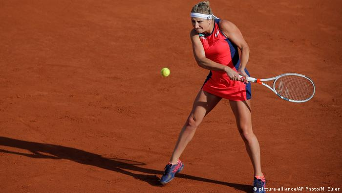 Frankreich French Open in Paris - Timea Bacsinszky (picture-alliance/AP Photo/M. Euler)