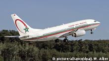 29.08.2007 Royal Air Maroc, Boeing 737-700 startet, Frankfurt, Hessen, Deutschland.|Royal Air Maroc, Boeing 737-700 takes off, Frankfurt, Hesse, Germany.| | Verwendung weltweit